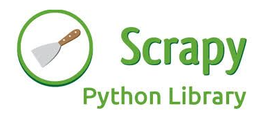 Machine generated alternative text: Scrapy  Python Library